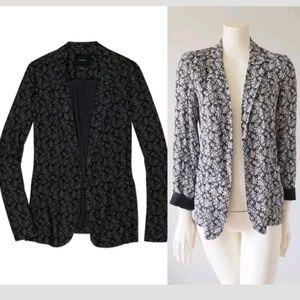 Aritzia Talula Kent Blazer Jacket Floral Lace Open